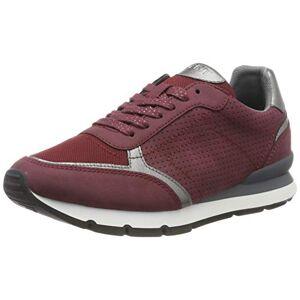 Esprit Blanchet Lu, Sneakers Basses Femme, Rouge (Bordeaux Red 600), 39 EU - Publicité