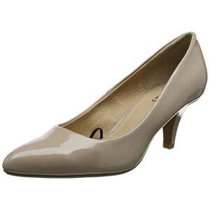 Adobe Clio Chaussures  Talons fermées pour Femme, Beige (Vernis Nude), 38 - Publicité
