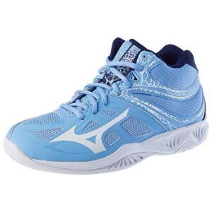 Mizuno Thunder Blade 2 Mid, Chaussure de Volleyball Femme, Bleu (Dellarblue/ Snowwht/ 2768c), 39 EU - Publicité