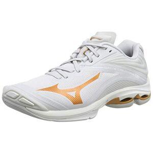 Mizuno Wave Lightning Z6, Chaussures de Volleyball Femme, Blanc (Nimbus Cloud/10135c/Wht 52), 40 EU - Publicité