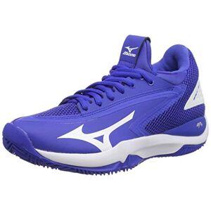 Mizuno Wave Impulse CC, Chaussures de Tennis Femme, Bleu (Dblue/WHT/Dblue 01), 37 EU - Publicité