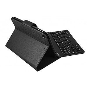 SILVERHT 111934140199 Dossier Noir tuis pour tablette (Dossier, Apple, iPad Air 1/2 iPad Pro 9.7, Bluetooth, Clavier, Noir) - Publicité