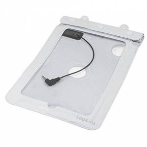 """Logilink AA0038W Poche étanche pour Tablette 7"""" Blanc - Publicité"""
