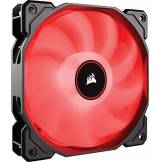 Corsair AF120, Air Series, 120mm LED Ventilateur Silencieux - Rouge (Pack Individuel)