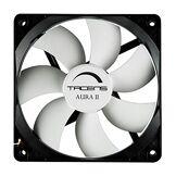 Tacens Aura II - Ventilateur d'ordinateur (8 cm, 60 000 h, système anti-poussière), noir