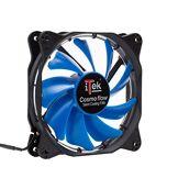 iTek Cosmo Flow Boitier PC Ventilateur - Ventilateurs, refoidisseurs et radiateurs (Boitier PC, Ventilateur, 12 cm, 1200 TR/Min, 24,8 DB, 39,8 cfm)