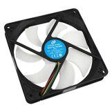 Cooltek Silent Fan 140 PWM Boitier PC Ventilateur - Ventilateurs, refoidisseurs et radiateurs (Boitier PC, Ventilateur, 14 cm, 600 TR/Min, 1200 TR/Min, 6,8 DB)