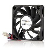 StarTech.com Ventilateur PC à Roulement à Billes - Alimentation TX3 - 60 mm - 1x Molex Fan TX3 Femelle