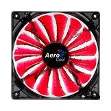 Aerocool Shark Fan Devil Red Edition 12cm Boitier PC Ventilateur - Ventilateurs, refoidisseurs et radiateurs (Boitier PC, Ventilateur, 12 cm, 12,6 DB, 100000 h, Noir, Rouge)