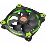 Thermaltake - Riing 12 - Ventilateur PC (12V - 24.6 dB - diam: 12cm - 1500 RPM) Vert