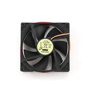 Gembird FANCASE2 Boitier PC Ventilateur Ventilateur, Refroidisseur et radiateur Ventilateurs, refoidisseurs et radiateurs (Boitier PC, Ventilateur, 9 cm, Noir, 90 mm, 25 mm) - Publicité