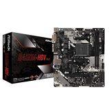 ASRock B450M-HDV R4.0 Carte mère Emplacement AM4 Micro ATX AMD B450 - Cartes mères (AMD, Emplacement AM4, AMD Ryzen, DDR4-SDRAM, DIMM, 2133, 2400, 2667, 2933, 3200 MHz)