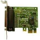 Brainboxes Port Parallèle Imprimante Carte PCI Express Low Profile