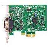 Brainboxes RS422/4851Port Carte Port PCI Express Low Profile