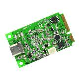IO Crest iocrest Mini PCI-Express 2.0vers USB 3.1Type C Gen 2Carte Chipset–Vert