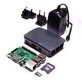 FrankenMatic F896–8860–10Raspberry Pi 3Basic Set - Kit Squeezebox Elite WiFi Lecteur de Musique WiFi, boîtier, Bloc d'alimentation, 8Go MicroSDHC