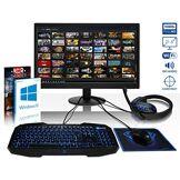 VIBOX Black-Ice LA12-230 PC Gamer Ordinateur avec War Thunder Jeu Bundle, Windows 10 OS, 22