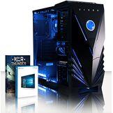 VIBOX Black-Ice LA10-14 PC Gamer Ordinateur avec War Thunder Jeu Bundle, Windows 10 OS (3,8GHz AMD A10 Quad-Core Processeur, Radeon R7 Graphiques Chip, 4GB DDR4 2133MHz RAM, 120GB SSD, 2TB HDD)
