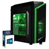 Vibox FX 11 PC Gamer Unité Centrale Vert (AMD FX-Series, 8 Go de RAM, 1 to, AMD Radeon RX 460, Windows 10)