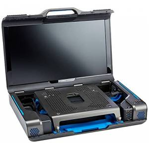 """Gaems Guardian Pro XP 24"""" (écran de Jeu QHD) Moniteur de Jeu QHD pour PS4, PS4 Pro, Xbox Series S, Xbox One S/X, et PC Noir (Console Non Incluse) - Publicité"""