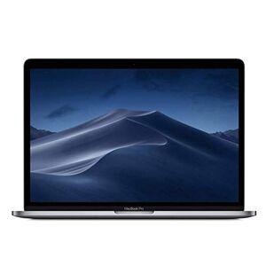 Apple MacBook Pro (13 pouces, avec Touch Bar: Processeur Intel Corei5 quadricur de 8egénération 2, 3GHz, 512Go) Gris sidéral (Modle Précédent) - Publicité