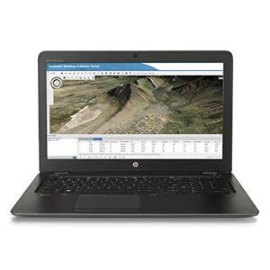 """HP ZBook 15U G3 Mobile Workstation Ordinateur portable 15"""" (38,1 cm) Noir (Intel Core i7, 8 Go de RAM, 256 Go, Radeon, Windows 7) - Publicité"""