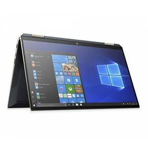 "HP Spectre x360 13-aw0031ng Bleu Hybride (2-en-1) 33,8 cm (13.3"") 3840 x 2160 Pixels cran Tactile 10th gen Intel Core i7 i7-1065G7 16 Go LPDDR4-SDRAM 1000 Go SSD Windows 10 Home Spectre - Publicité"