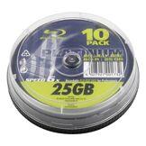 BestMedia Platinum BD-R 25 Go Platinum Vitesse de 6x, Pack de 10