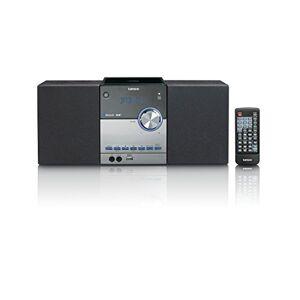 Lenco Chane stéréo compacte MC-150 avec Dab+, Radio FM, Lecteur CD/MP3, Bluetooth et USB, télécommande, 2 x 10 W Noir - Publicité