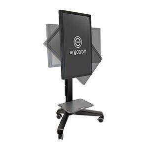 Ergotron Neo-Flex Mobile MediaCenter LD Support pour TV/Ordinateur Portable/Tablette/Ecran PC Noir - Publicité