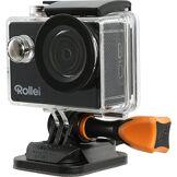 Rollei Actioncam 415 - Caméra d'action WiFi avec résolution Full HD, Avec boitier de protection sous-marine - Noir