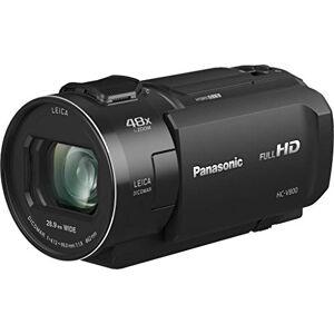 Panasonic HC-V800EG-K Caméscope Compact Full HD, Grand Angle 25 mm, Zoom Optique 24x, Wi-FI, Noir