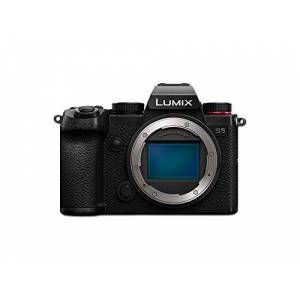 Panasonic Lumix S5   Appareil Photo Hybride Plein Format (24MP, Vidéo 4K 4:2:2 10bit, Double Stabilisation, V-Log, Anamorphique, Compact, Tropicalisé)  Version Franaise - Publicité