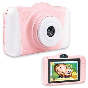 AGFA PHOTO Realikids Cam 2 Appareil Photo Numérique pour Enfant (Photo 12 MP, Vidéo, cran LCD 3.5, Filtres Photos, Mode Selfie, Batterie Lithium) Rose - Publicité