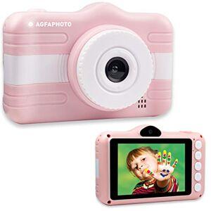 Agfaphoto Appareil Photo Numérique Compact Enfant Realikids Cam 3.5'' Rose - Publicité