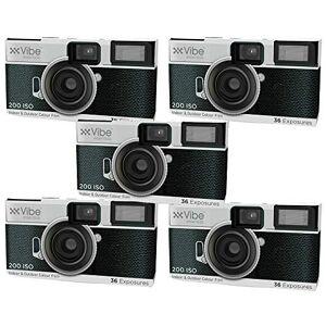 Vibe VE-36DC-RT-5PK Lot de 5 caméras  Usage Unique Blanc - Publicité