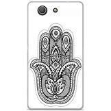 Onozo Coque TPU Gel Souple Sony Ericsson Xperia Z3 Compact Design Mandala Main