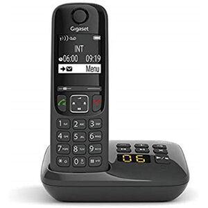 Siemens AS690A Téléphone fixe sans fil avec répondeur Noir - Publicité