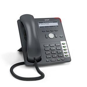 Snom Technology SNOM 2793 710 Professional Voip / SIP Affichage De Téléphone D'affaires Avec Commutateur Ethernet Rétro-Éclairage Crochet Sensor Switch 4 Identités SIP Ipv6 - Publicité