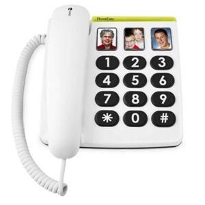 Doro PhoneEasy 331ph Téléphone Fixe pour Seniors avec GrandesTouches, Numérotation Abrégée et Compatible avec Appareils Auditifs [Version Franaise] - Publicité