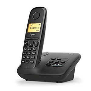 Siemens AL170A Solo Téléphone fixe sans fil DECT/GAP Répondeur Noir - Publicité