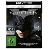 Warner Home Video - DVD DVD Batman Begins 4K UHD [Blu-ray]