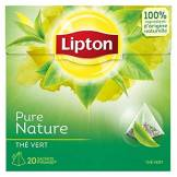 Lipton Thé Vert Nature 20 Sachets 30 g