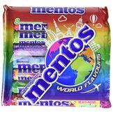 Mentos World Flavours Pack De 8 Rouleaux Assortis 302 G