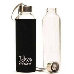 Irisana BBO Bouteille avec housse Noir 550 ml - Publicité