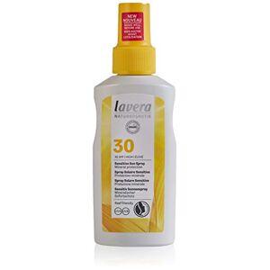 lavera Spray Solaire Sensitive SPF30  Soins Solaires  Spray Solaire  SPF 30  Cosmétiques Naturels  vegan  certifié  100ml - Publicité
