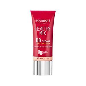 Bourjois Bb Crme Healthy Mix Anti-Fatigue et Révélateur d'Eclat Teint Naturel, Unifié, Frais et Hydraté 01 Clair 30ml - Publicité