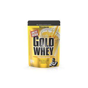 Weider Gold Whey Poudre protéinée 500 g - Publicité