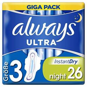 Always Ultra Night Serviettes hygiéniques - Publicité