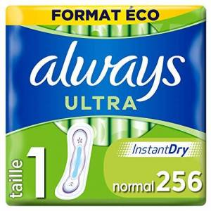 Always Ultra Normal (T1) Serviettes Hygiéniques x16 - Publicité